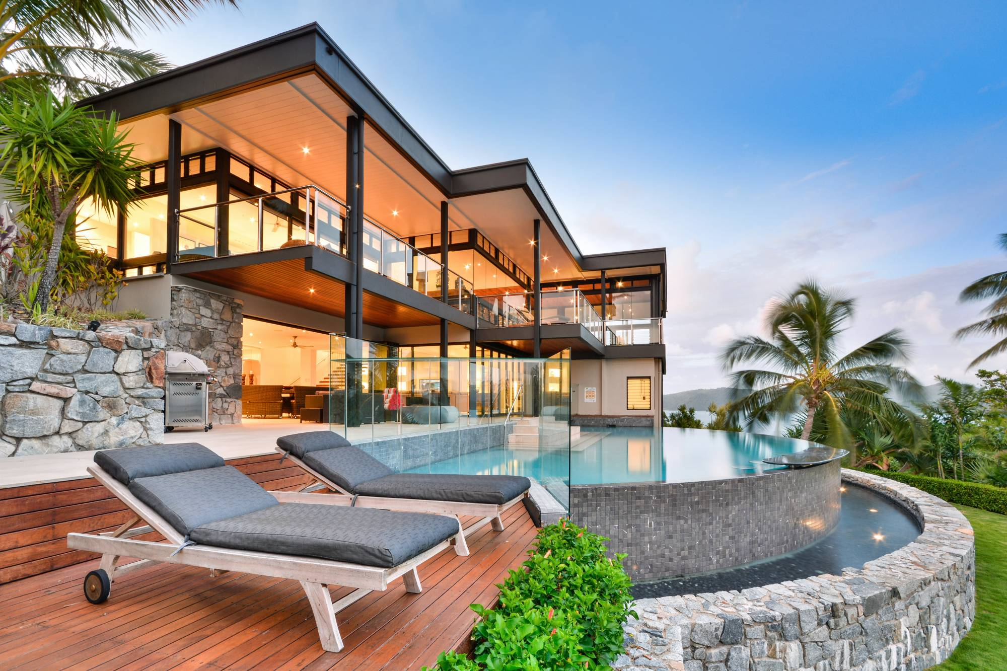 Apartment Style Glass House Hamilton Island Luxury Homes