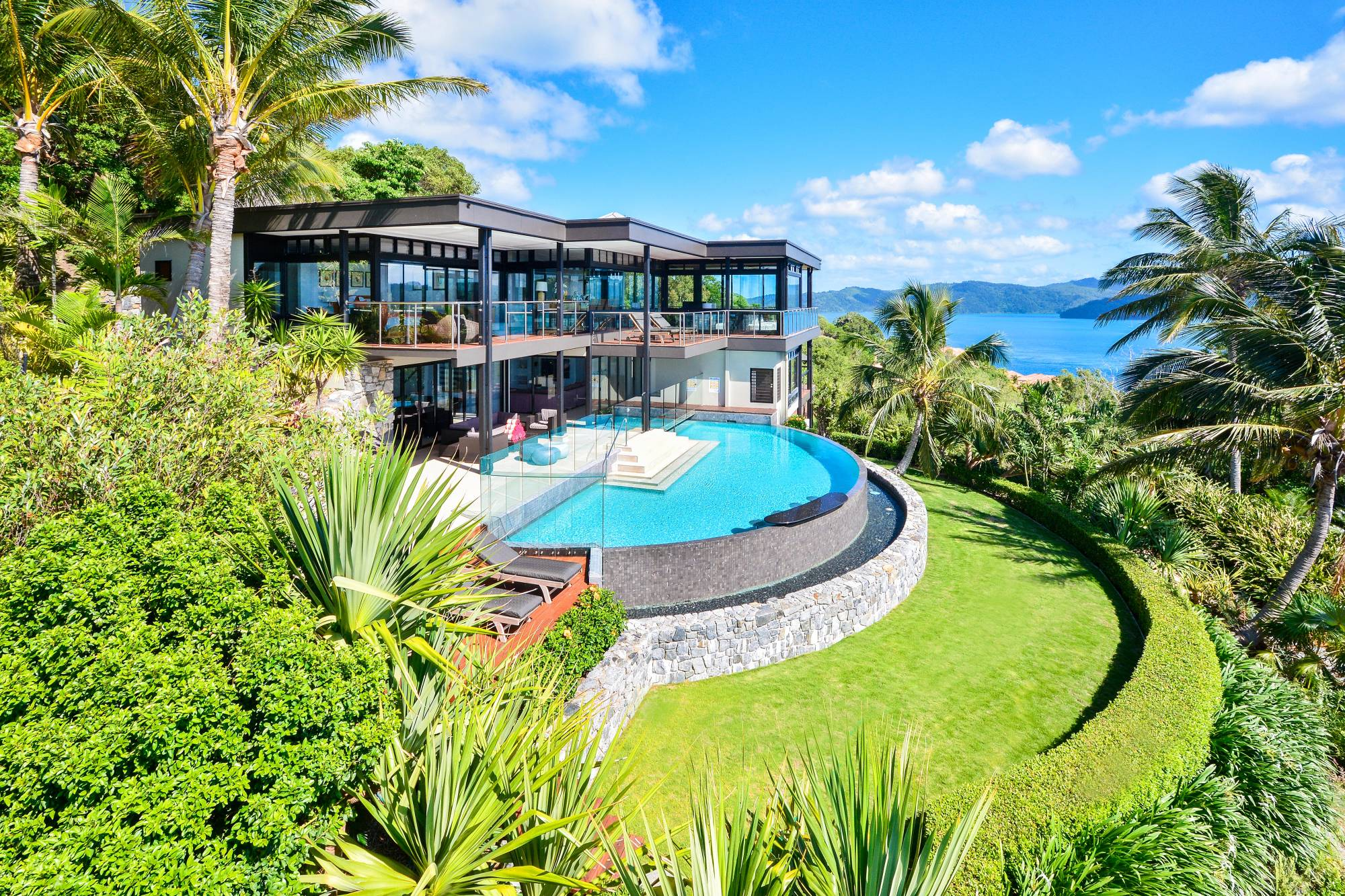 Luxury Home Floor Plans Glass House Hamilton Island Luxury Homes